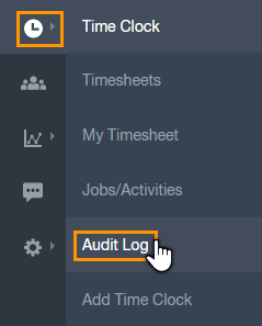 Managers Audit Log Paycor Scheduling Clock tab by coal chamber. managers audit log paycor scheduling